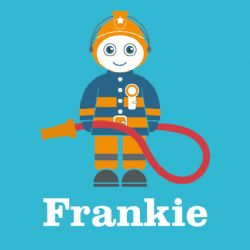 Friendly Firefighter (Personalised)